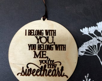 Wedding Gift,Personalized Gift,Sweetheart Tag ,Gift Tag, Valentine Gift,Valentines Day, Wedding Decor, Newlywed Gift, Where You Go I Will Go
