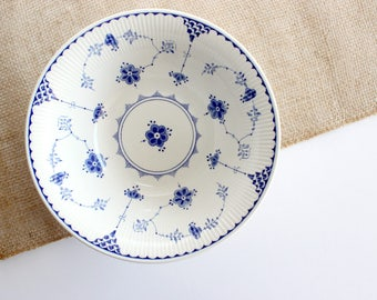 Franciscan Denmark English Ironstone, Blue and white serving bowl, Mother's Day Gift
