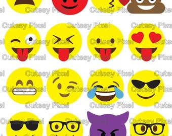 Emoji's Designs Svg cutting file, social media, Designs SVG, DXF, Cricut Design Space, Silhouette Studio,Digital Cut Files