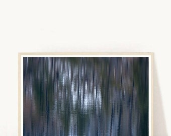 Blue Abstract Photo, Abstract Photography, Water Print,  Printable Art, digital Download, Wall Art, Home Decor, Wall Decor