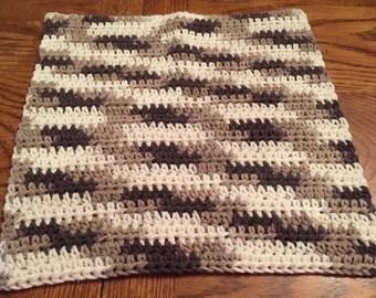 Crocheted Dishcloths- Chocolate