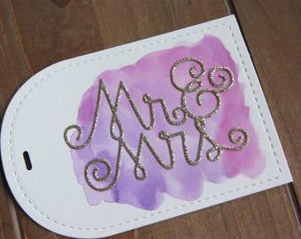 Wedding Gift Tag (2)/Bridal Shower Gift Tag/Bridal Gift Tag/Bridesmaid Gift Tag