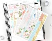 Pink Drink June Monthly View Planner Kit | 198 Stickers | Planner Stickers | For Erin Condren LifePlanner