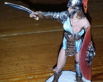 Athene in 54mm hand painted model