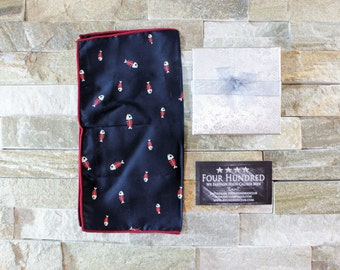 CLEARANCE 25% OFF! Cotton Pocket Square. Mens gift. Handmade Handkerchief.