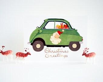 Postcard - Christmas Greetings