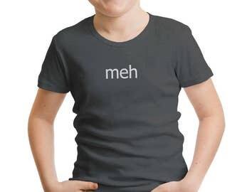 Meh Boys' T-Shirt