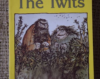 The Twits. Roald Dahl. Illustrations Quentin Blake. Childrens Puffin Paperback Book.