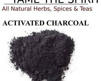 Activated Charcoal Powder, Food Grade