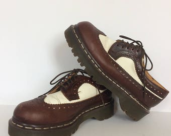 Dr Martens size 4 Made in England Wingtip Oxford W8 M6