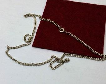 Classic necklace 925 l: 38.5 cm St. 1.7 mm HK218