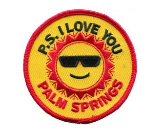 Palm Springs California Patch - PS I Love You