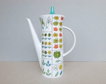 German Vintage - Piemonte - Coffee Pot by Rosenthal Studio Line Berlin Designed by Hans Theo Baumann and Emilio Pucci