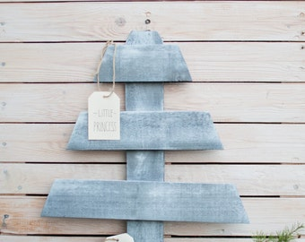 Wooden Christmas Tree Artifical Christmas Tree Pallet Christmas Tree Holiday Home Decor Gift Design / Arbre de Noël rustique  / Tannenbaum