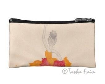 Tutu Magic Cosmetic Bag- Make Up Bag- Accessory Bag-Tutu Magic