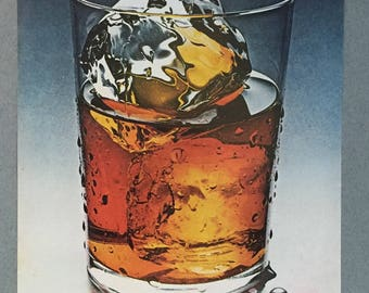 1970 Seagram's 7 Crown Whiskey Print Ad - Seagram's Seven