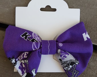 Kansas State Univeristy Hair Bow - KSU Wildcats - K-State