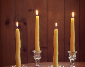 Taper Beeswax Candles