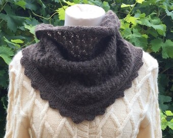 Lacy Scarf - knitting kit