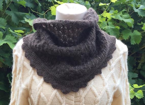 Scarf Knitting Kits Uk : Lacy scarf knitting kit