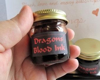 Dragon's Blood Ink, Dragon's Blood Resin Ink, Dracaena Cinnabari Ink