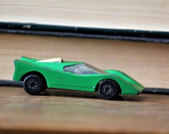 Matchbox Car - Toy Car -  Flamin Manta Matchbox - Collectible Car Matchbox - Vintage Matchbox Car Made in Bulgaria in 1971