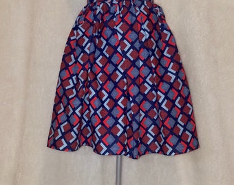 Gathered African Style skirt