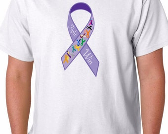 Cancer Awareness T-shirt 50% of Proceeds to American Cancer Society