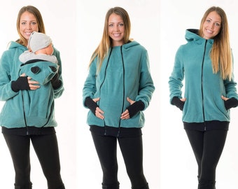3 in 1 carrier jacket for baby sling carrier maternity jacket Teddy2 +