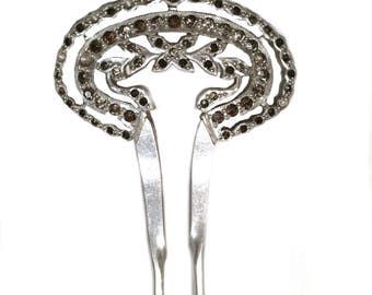Vintage Victorian Paste Hair Jewelry Pin