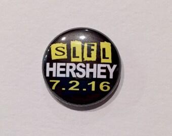 SLFL Tour Button  5SOS 1 Inch Pinback Button Badge, Magnets, Fandom Buttons, Fandom Pins, Concert 5 Seconds of Summer