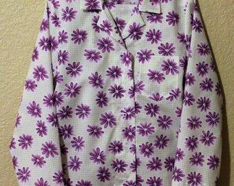 Women's Custom Pajamas / Pyjamas Set / Custom Women's Clothing