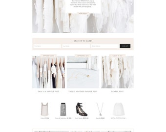 "WordPress Theme // Genesis Child Theme // ""Aria"""