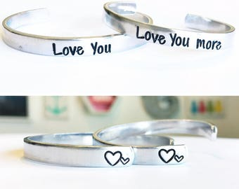 Mommy And Me Bracelet Set - Mother's Day Gift - Mother Daughter Bracelets - Mommy Daughter Jewelry - Love You More