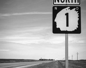The Tomahawk-Highway Sign Photo