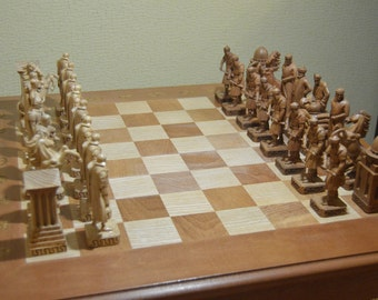 "Chess ""Romans and Persians"""
