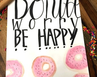 Donut worry be happy | DIGITAL DOWNLOAD |