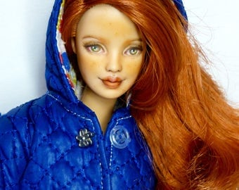 OOAK Barbie Red Head