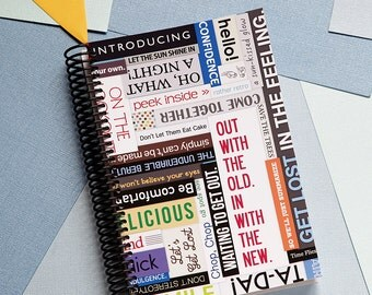 In With the New Daily Planner 2017