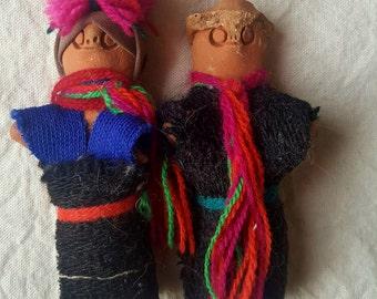 Couple of dolls Chamula, Chiapas, Mexico