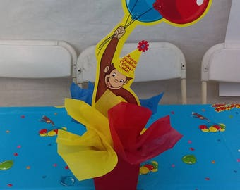 Curious George centerpieces