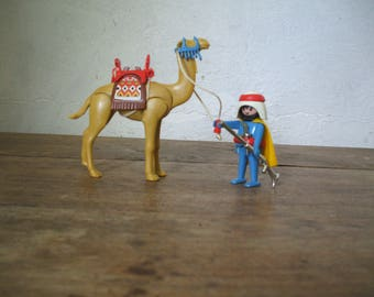 PLAYMOBIL 3586 - Touareg / camel - 1980 vintage collection - without box and without notice.