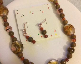 Winnemucca necklace & earrings set
