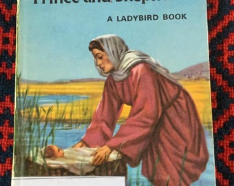 Vintage Ladybird Book - Moses Prince and Shepherd