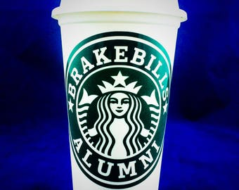 "Syfy The Magicians inspired ""Brakebills Alumni"" Starbucks Travel Cup"