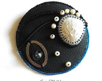 Castaway on the Moon _ Maxi spilla/gioiello