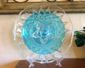 Glass Plate Flower 'Star Gazer'