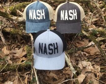 Nashville - Nash Distressed Trucker Hat