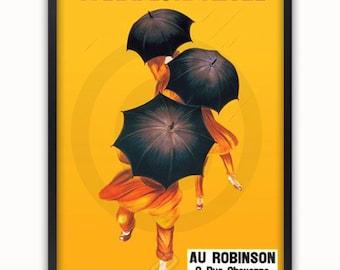 Parapluie Revel - Vintage Poster