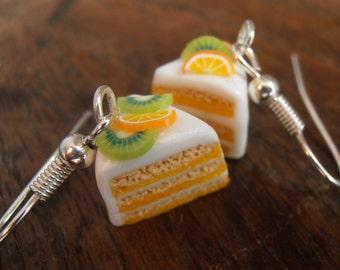 Earrings - shares of fruitcake